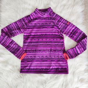 Nike girls fleece lined sweater